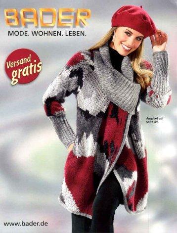 Каталог Bader осень-зима 2016. Заказ одежды на www.catalogi.ru или по тел. +74955404949
