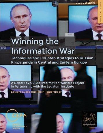 Winning the Information War