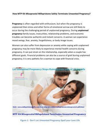 Use MTP Kit Misoprostol Mifepristone to Execute Pregnancy