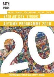 BAS Autumn Brochure 2016