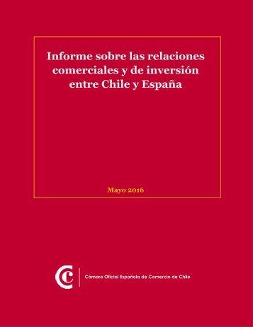 comerciales y de inversión entre Chile y España