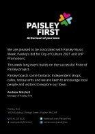 Paisley Music Week  Programme 2016 - Page 2