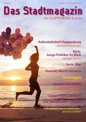 Stadtmagazin Cloppenburg Ausgabe 14