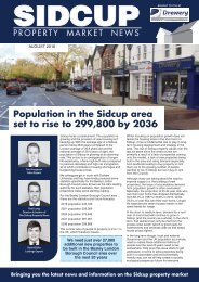 SIDCUP PROPERTY NEWS - AUGUST 2016