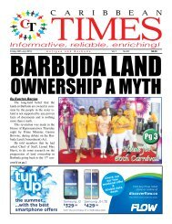 Caribbean Times 62nd Issue - Friday 29th July 2016
