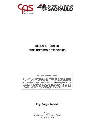 Desenho Técnico - Fundamentos e Exercícios - Rev01