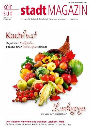 stadtMAGAZIN köln-süd | Ausgabe August/September 2016