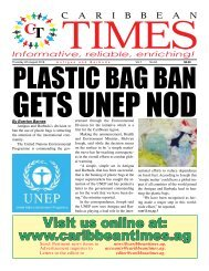 Caribbean Times 64th Issue - Thursday 4th August 2016