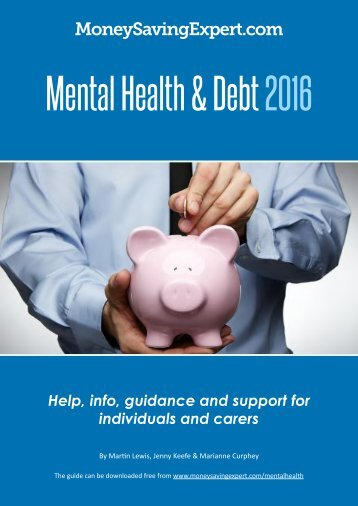 Mental Health & Debt 2016