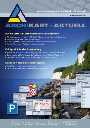 PDF Ausgabe 4-2010 - ARCHIKART Software AG