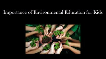 Environmental Education for Kids