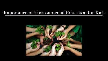 Environmental Education for Kids