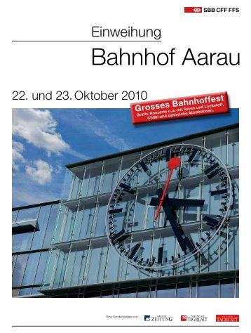 AZ-Sonderbeilage - Bahnhof Aarau