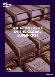 THE GEOGRAPHY OF THE GLOBAL SUPER-RICH