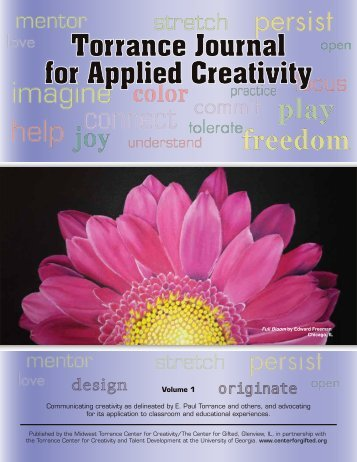 Torrance Journal for Applied Creativity