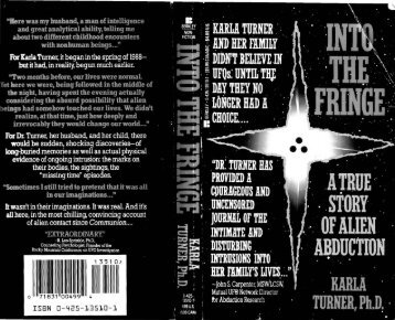 Into the Fringe - A True Story of Abduction