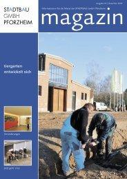 Magazin Ausgabe 18 | Dezember 2009 - STADTBAU GmbH ...