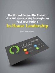 In-House Leadership