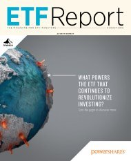 WHAT POWERS THE ETF THAT CONTINUES TO REVOLUTIONIZE INVESTING?