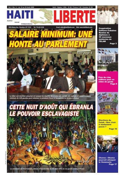 Haiti Liberte 19 Aout 2009