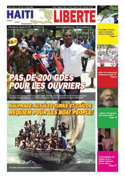 Haiti Liberte 5 Aout 2009