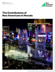 The Contributions of New Americans in Nevada