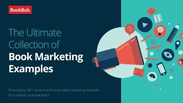 The Ultimate Collection of Book Marketing Examples