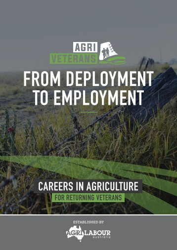 FROM DEPLOYMENT TO EMPLOYMENT