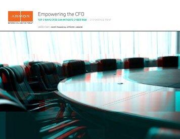 Empowering the CFO