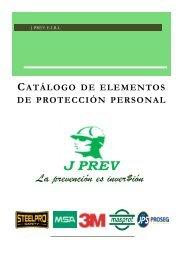 catalogo de productos J PREV