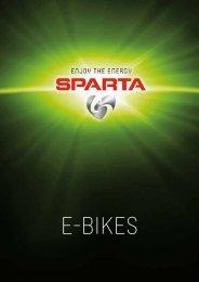 Brochure Sparta E-Bikes 2016