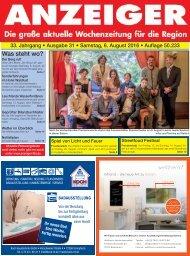 Anzeiger Ausgabe 31/16