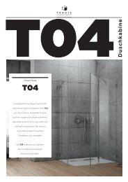 Duschkabine T04