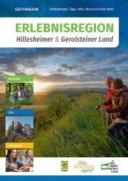 Hillesheimer-Gerolsteiner-Land – Gästemagazin 2016