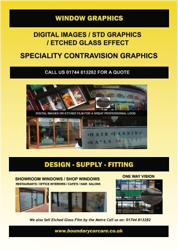 Page 20 Window Graphics