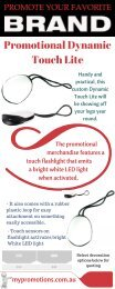 Promotional Product - Dynamic Touch Lite - My Promotions