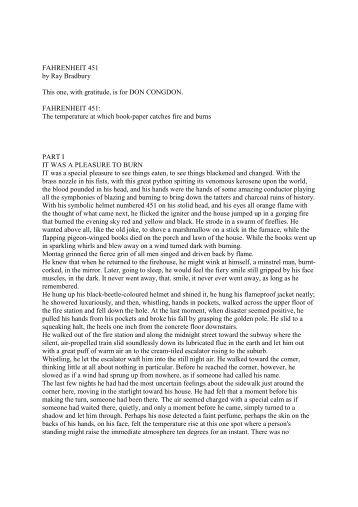 farhenheit 451 en francais pdf