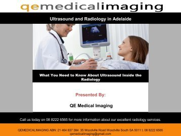 What You Need to Know About Ultrasound Inside the Radiology