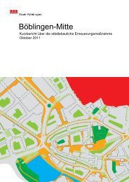 Böblingen-Mitte - Stadt Böblingen