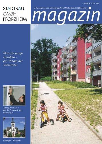 STADTBAU Magazin Ausgabe Nr. 9 (Juli 2005) - STADTBAU GmbH ...