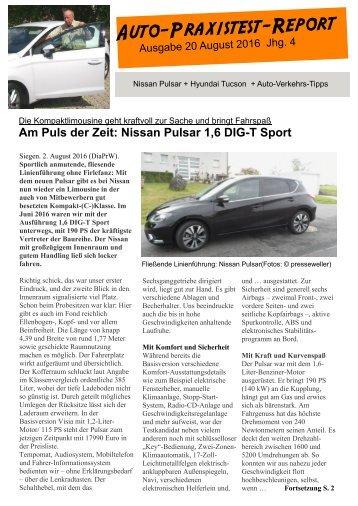 Auto-Praxistest-Report 20