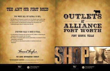 Outlets at Alliance - Brochure