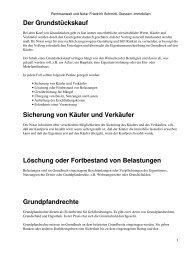 Rechtsanwalt und Notar Friedrich Schmidt, Giessen: Immobilien
