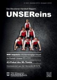 UnserEins – Ausgabe 2 2015-16