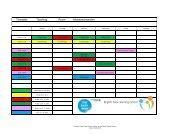 Stundenplan Teaching Room Meisterschwanden