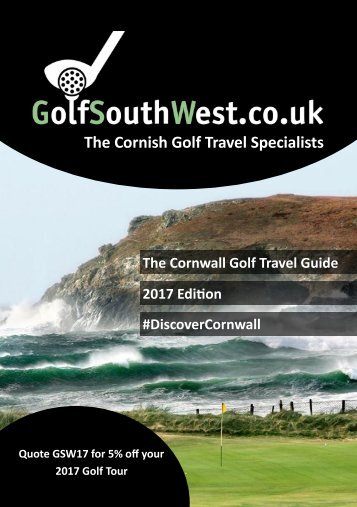 The Cornish Golf Travel Specialists
