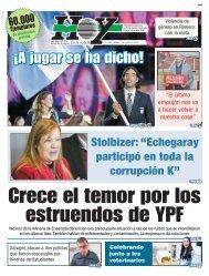 Crece el temor por los estruendos de YPF
