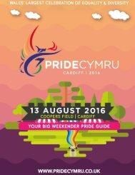 Pride Cymru 2016 E-Brochure