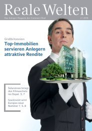 Top-Immobilien servieren Anlegern attraktive Rendite - CommerzReal