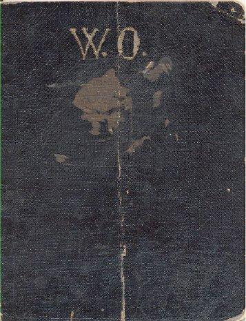 Original handgeschriebenes Liederheft Ostermanns von 1906